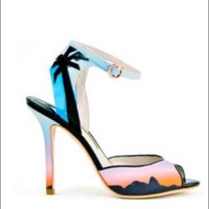 "Sophia Webster Rio Sunset 4"" Heels"